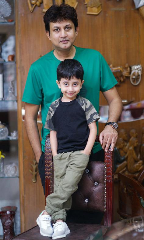 Amin Khan's son Ishan becomes model of a TVC