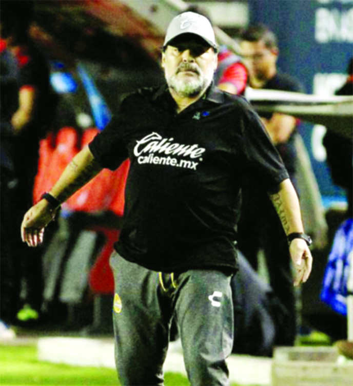 Maradona leaves Mexican club Dorados