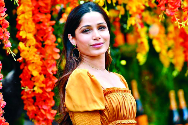 Freida Pinto wraps Ron Howard's next film