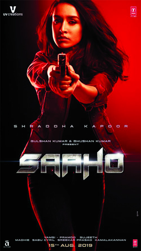 Shraddha gives us interesting insights on playing a bold cop avatar in Saaho