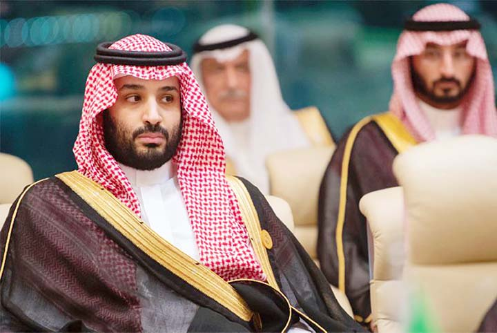 Saudi Crown Prince lashes out at arch-rival Iran over tanker attacks