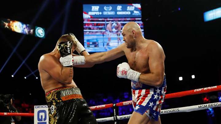 Fury batters Schwarz, eyes Wilder rematch