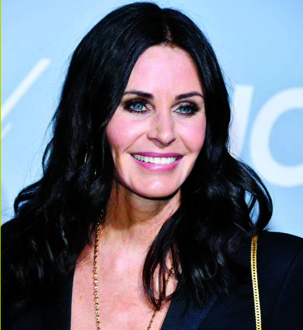Friends stars meet for Courteney Cox's Birthday