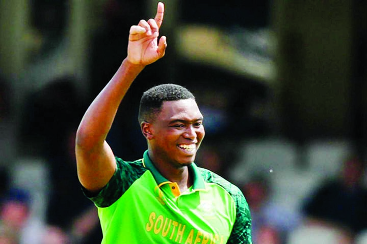 Lungi Ngidi passed fit for New Zealand clash