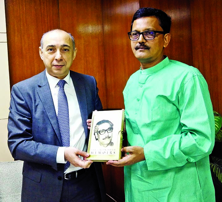 Azerbaijan envoy meets Khalid Mahmud