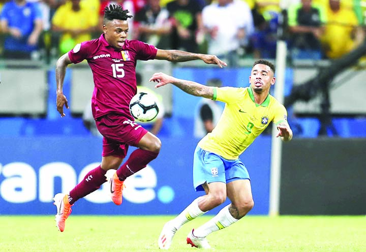 VAR denies Brazil as Venezuela battle to draw