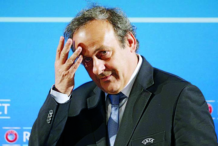 France detain soccer great Platini in 2022 World Cup probe