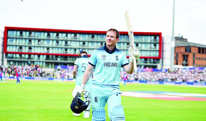 Morgan surprises himself with sixes record