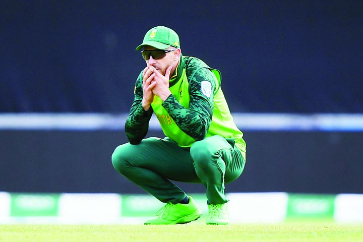 We left everything out there, and that's all I can ask for: Faf du Plessis