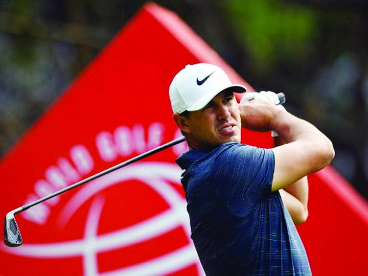 World number one Koepka says success comes from keeping calm