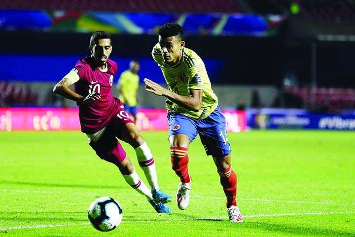 Zapata sends Colombia into Copa quarters with Qatar winner