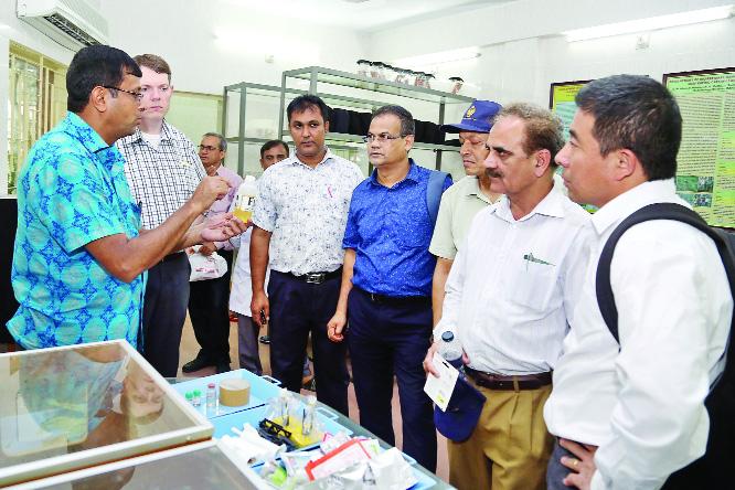SAARC delegation visits BARI
