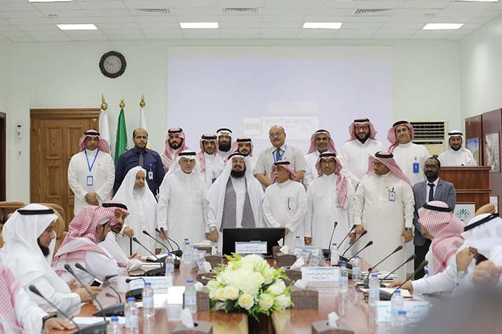 A meeting of the high officials of International Organisation for Relief , Welfare and Development ( IORWD) was held at Jeddah in Saudi Arabia on presentation of report of a project of King Salman Humanitarian Aid and Relief Centre to IORWD Secretary General His Excellency Dr Abdul Aziz Ahmed Sarhan on Friday.