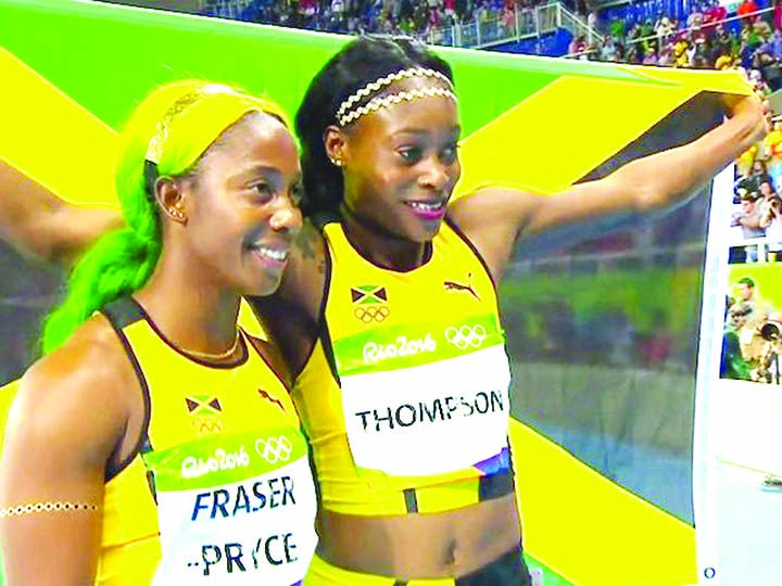 Fraser-Pryce, Thompson share first in 100m at Jamaican Nationals Champs