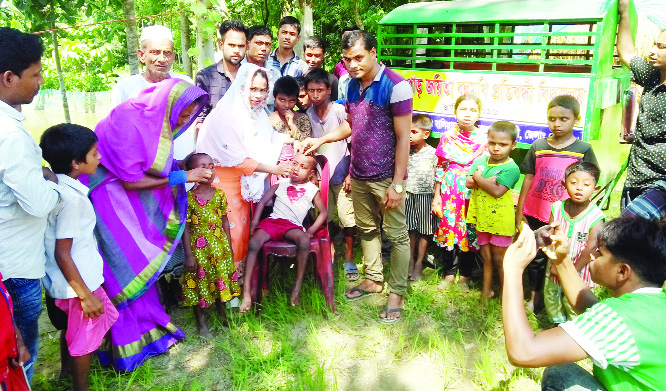 About 33.55 lakh children given  Vitamin A capsules in 3 dists