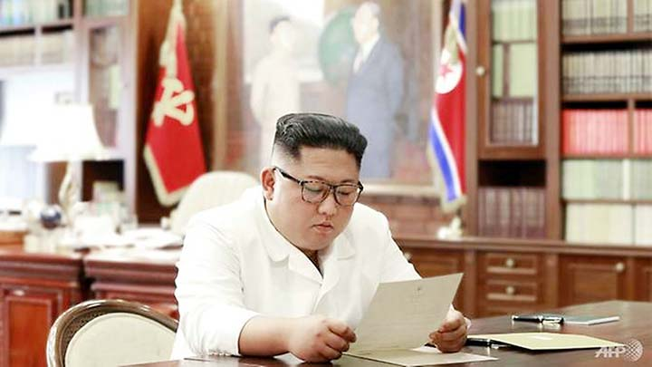 North Korean leader receives 'excellent' letter from Trump: KCNA