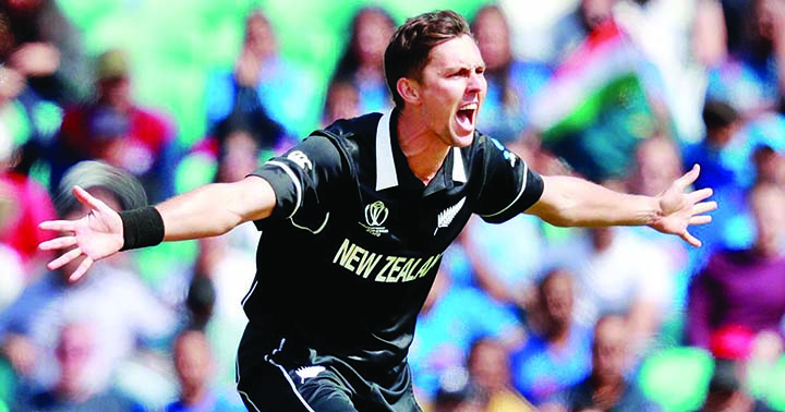 New Zealand's Boult proud to seal West Indies thriller