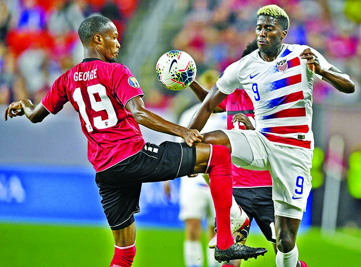 US rout Trinidad, avenge shock World Cup qualifier loss