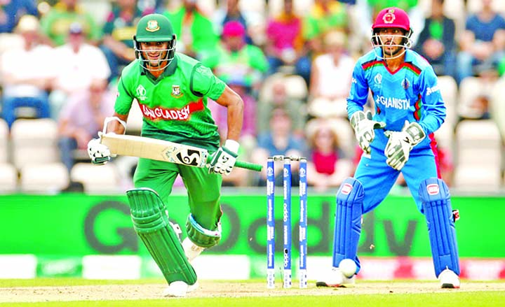 Shakib first Bangladeshi batsman to complete 1000 WC runs
