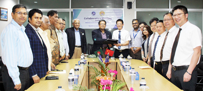 SEU inks MoU with WIT, China