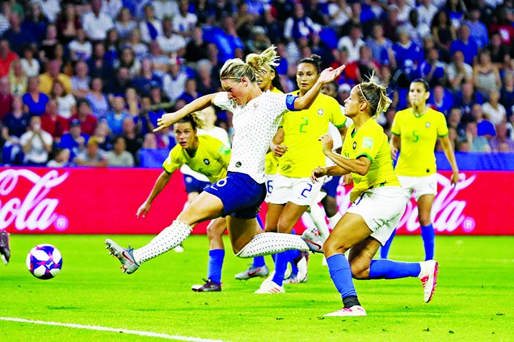 France beat Brazil 2-1 in extra time, reach WCup quarters