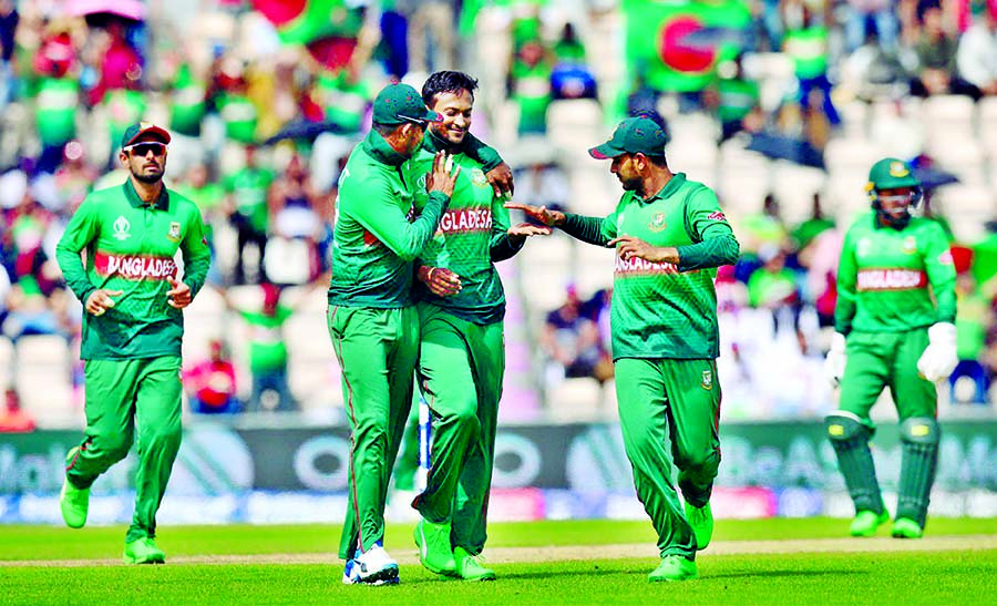 Shakib does it for Bangladesh