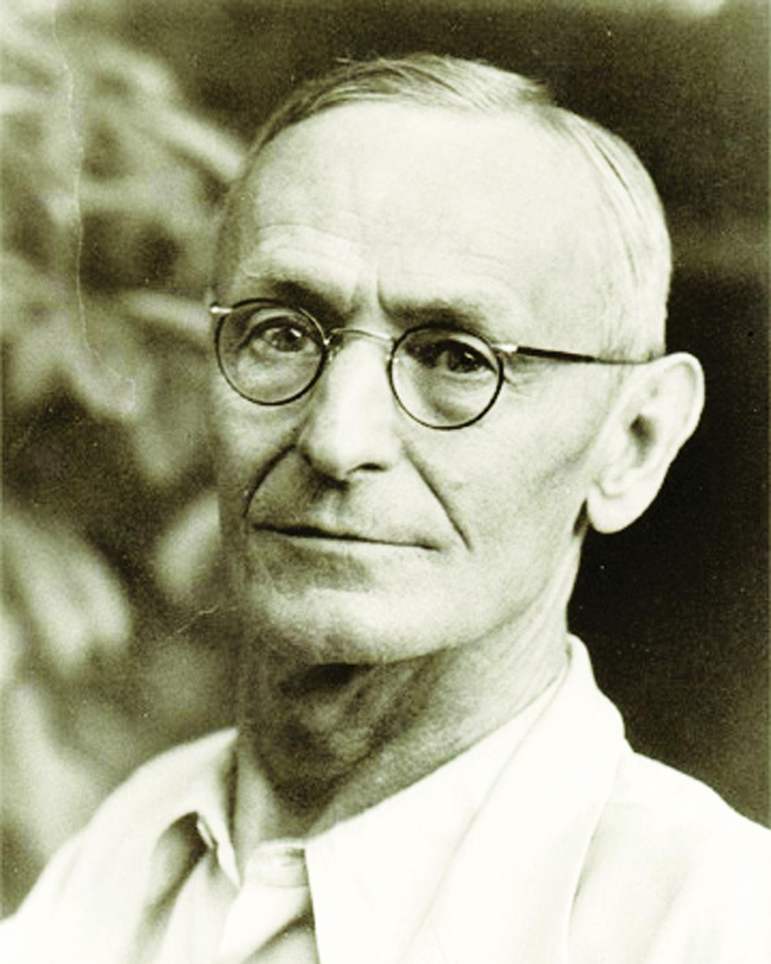 Nobel Laureate: Novelist Hermann Hesse