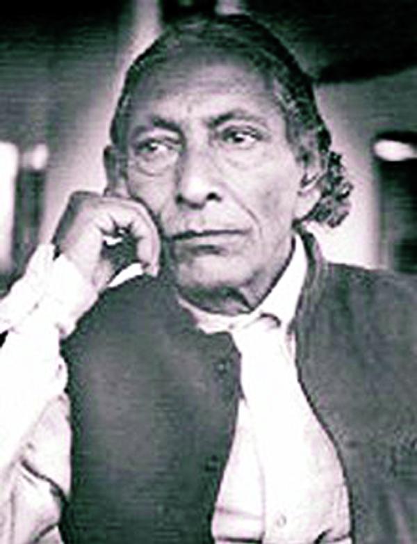 Poet, writer Bande Ali Mia