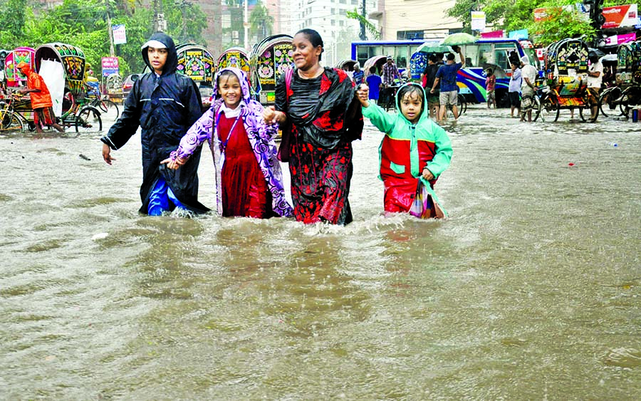 Rains trigger landslides:Many families evacuated; Hill people, Rohingyas alerted: Shelter centres kept ready