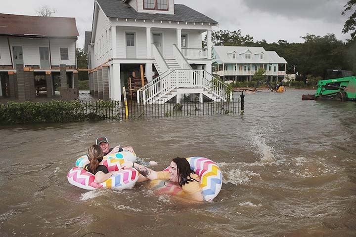 Tropical storm Barry pelts Louisiana, millions brace for flooding