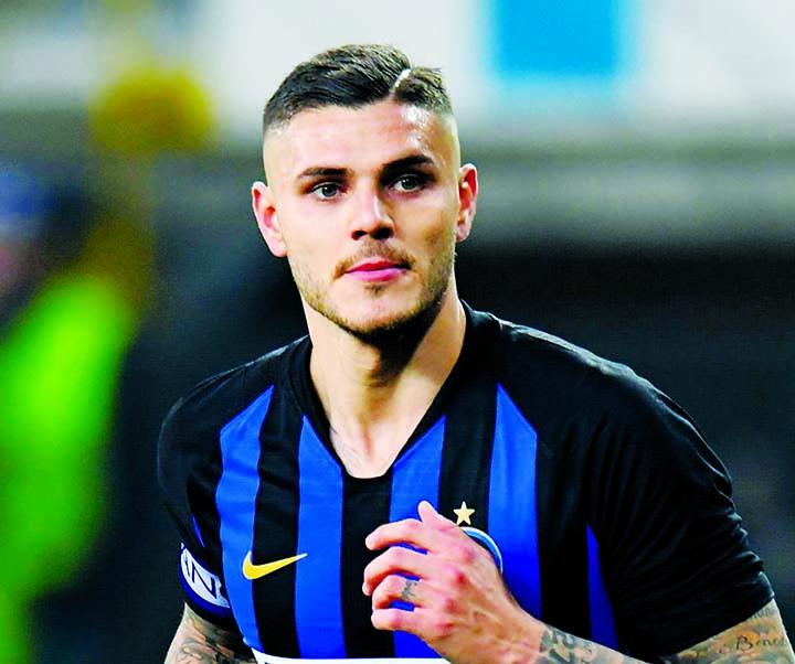 Inter striker Icardi leaves training camp amid transfer rumours