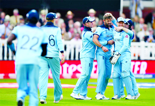 England become WC champs for  first time