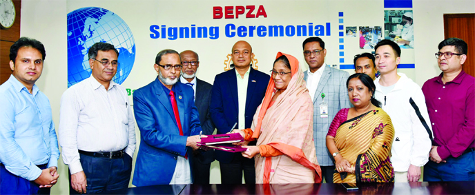 China-BD joint venture company to invest $1.46m in IEPZ