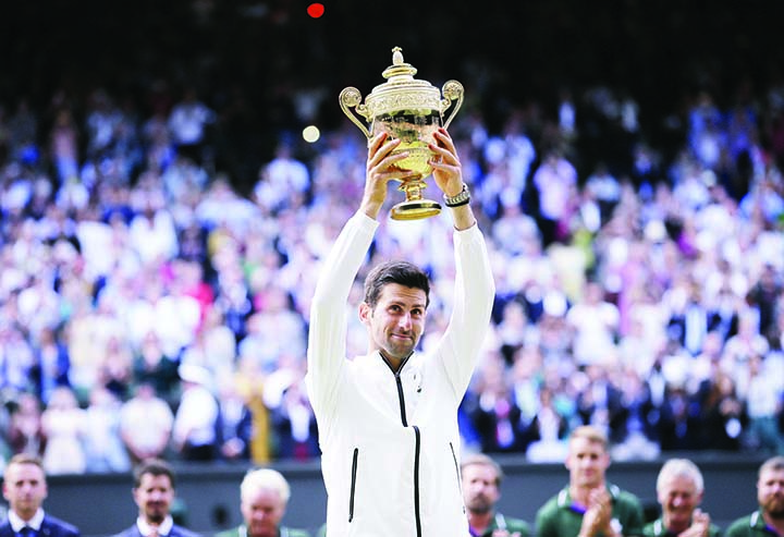 Djokovic vows to win fans' love with Federer record in view