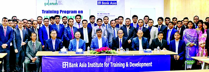 Md Arfan Ali, Managing Director of Bank Asia Ltd, inaugurating a day-long training on
