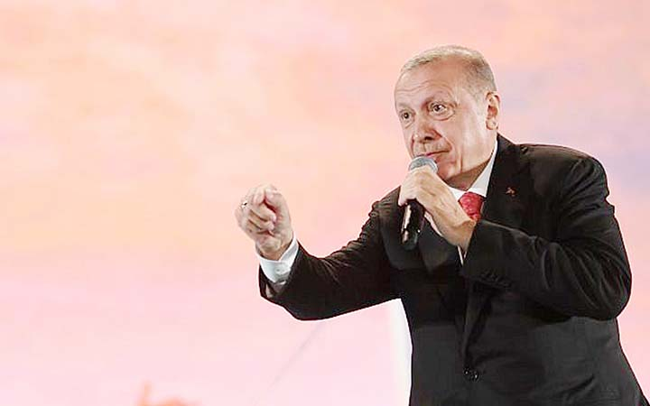 Erdogan hails S-400 deal as Turkey marks 2016 coup bid