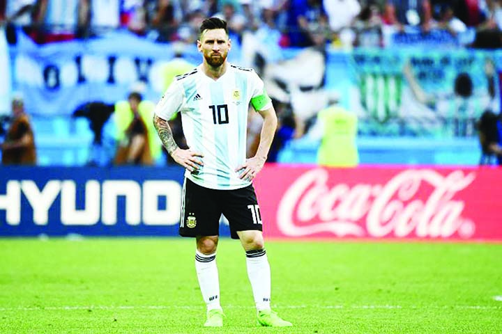 Argentine sport court member advices Messi to apologize