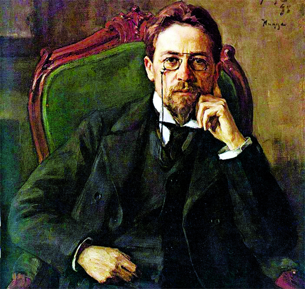 Playwright Anton Chekhov
