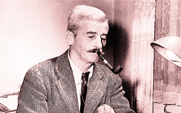 Novelist William Faulkner