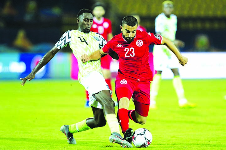 Nigeria beat Tunisia 1-0 in 3rd-place game at Africa Cup