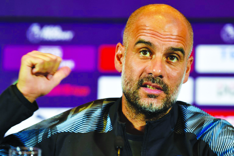 Guardiola unamused by Bayern's Sane pursuit