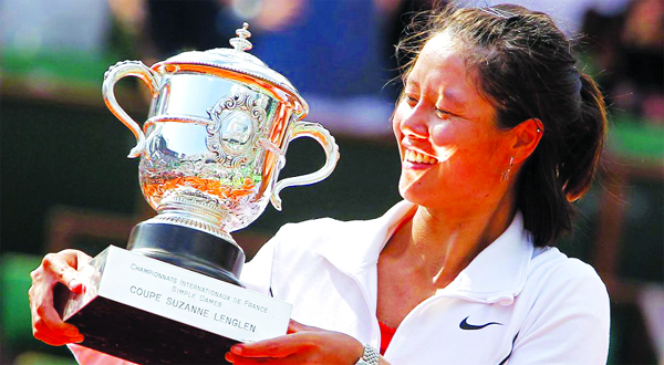 Li Na's tennis journey to stretch from China to Hall of Fame