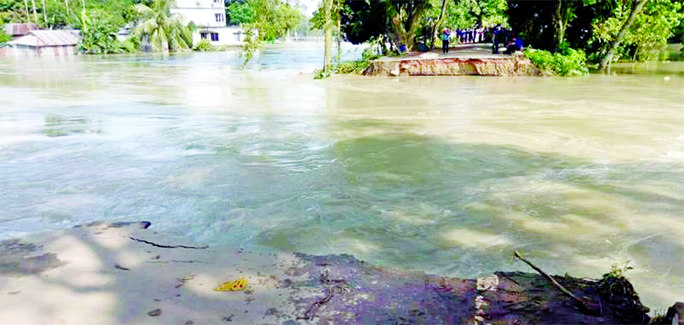 Flood situation worsens further in Jamalpur