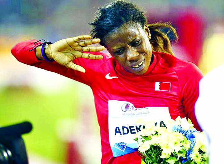 Former world indoor champ Adekoya gets 4-year doping ban