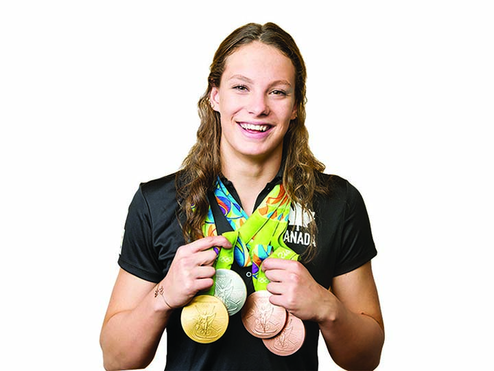 Penny drops for Canada's teen swim queen Oleksiak
