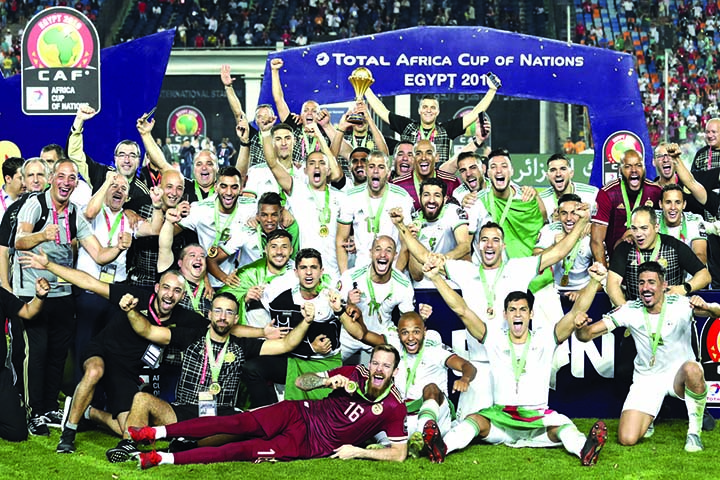 Algeria sink Senegal to claim    'incredible' second African crown