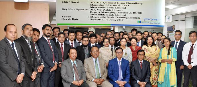 Mercantile Bank organized a workshop titled