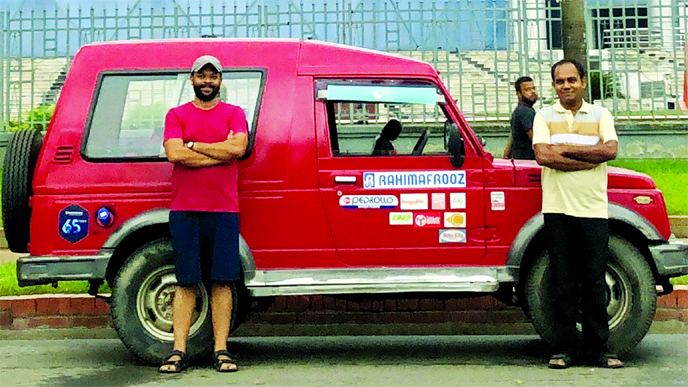Solar electric vehicle completes 2000km Bangladesh tour