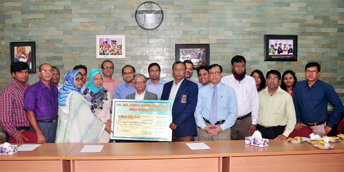 DU introduces Dr Azizul Hakim Gold Medal