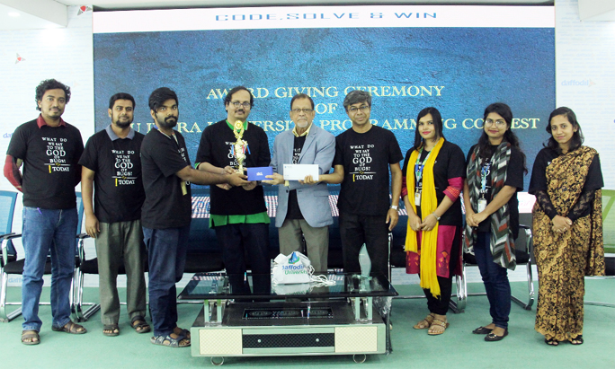 Intra-university programming contest concludes